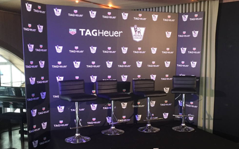Brightleaf's Print and Graphics work for Tag Heuer
