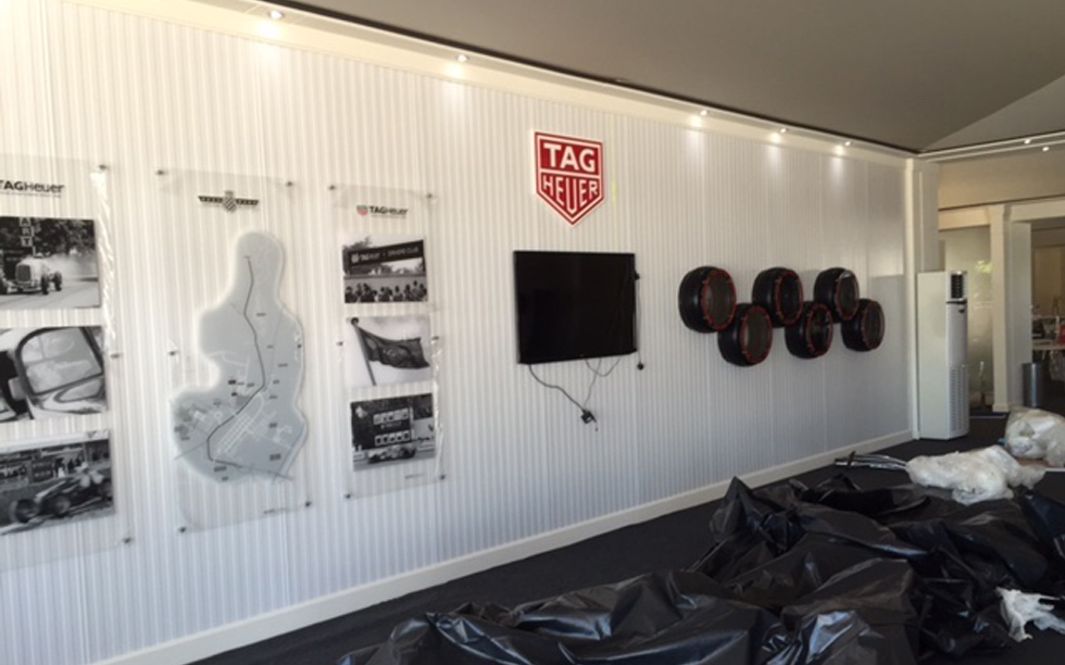 TAG-Heuer-Drivers-Club-Reception-Installation