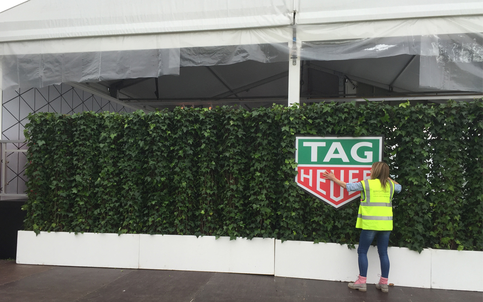 Goodwood-FOS-2016-Red-Carpet-installation-TAG-Heuer